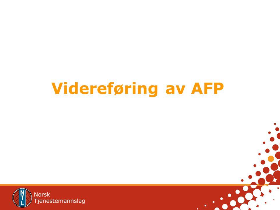 Videreføring av AFP