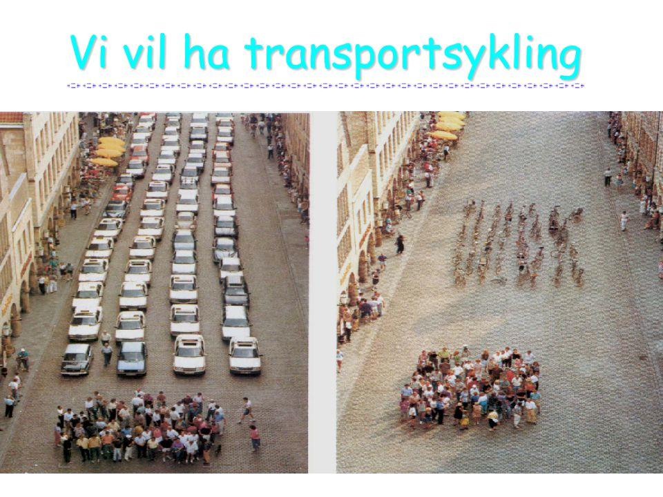 Vi vil ha transportsykling