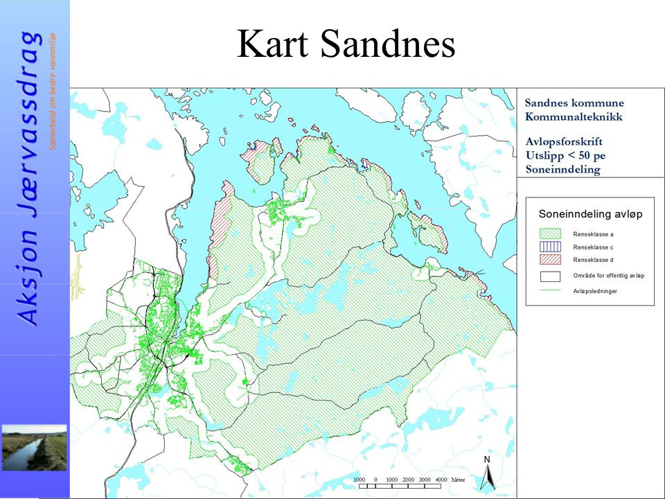 Kart Sandnes