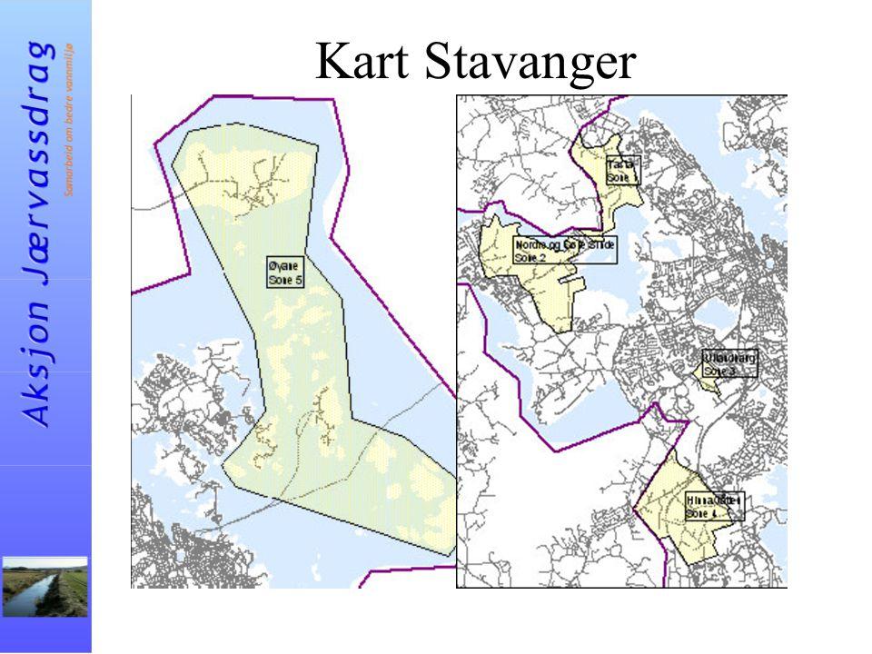 Kart Stavanger
