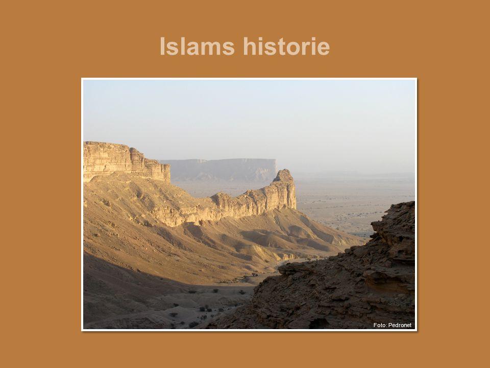Islams historie Foto: Pedronet
