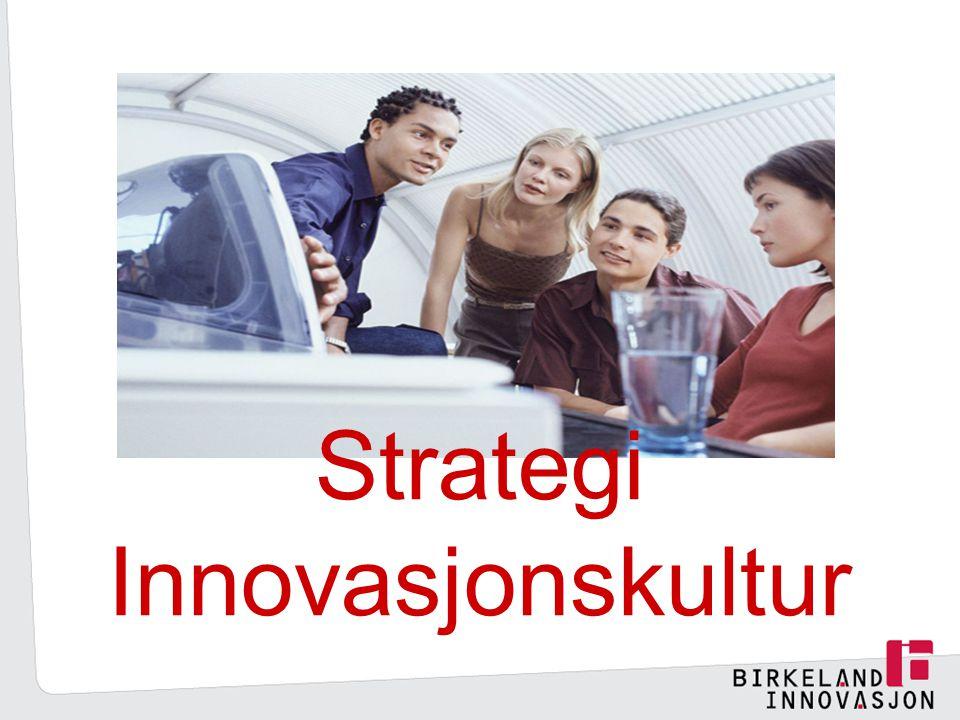 Strategi Innovasjonskultur