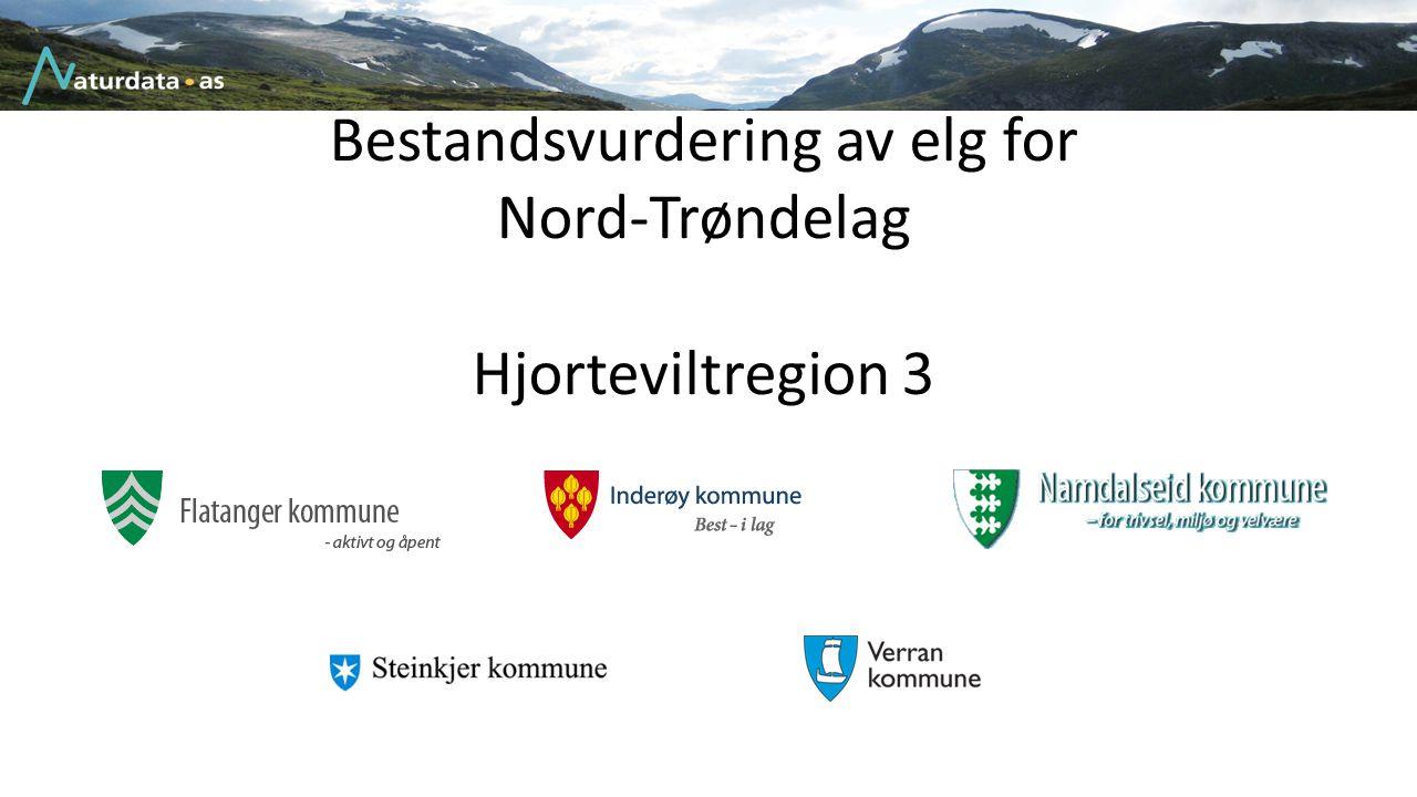 Bestandsvurdering av elg for Nord-Trøndelag Hjorteviltregion 3