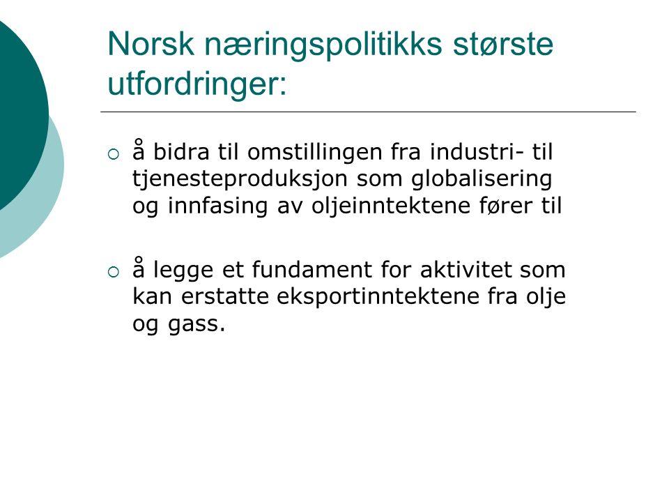 Norsk FoU-politikk i et europeisk og nordisk perspektiv: Lave FoU investeringer i Norge reflekter ikke bare en særnorsk næringsstruktur og liten satsing på FoU i næringslivet, men også norsk politikk!