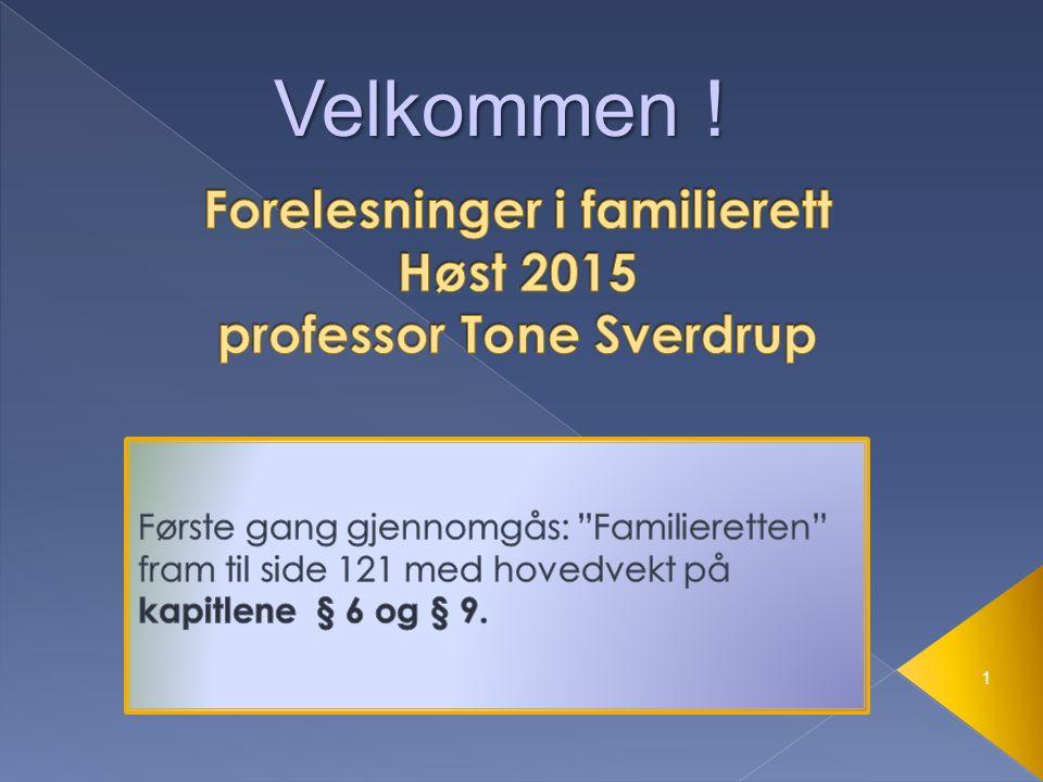 1.Rene formuerettslige avtaler Eks: kjøpsavtaler, gaver, leie..