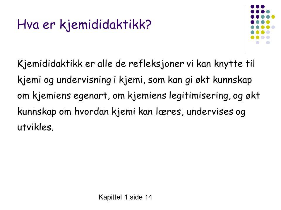 Vivi Ringnes s.36 Særtrekk - kjemi som eget språk Kjemispråket har ca.