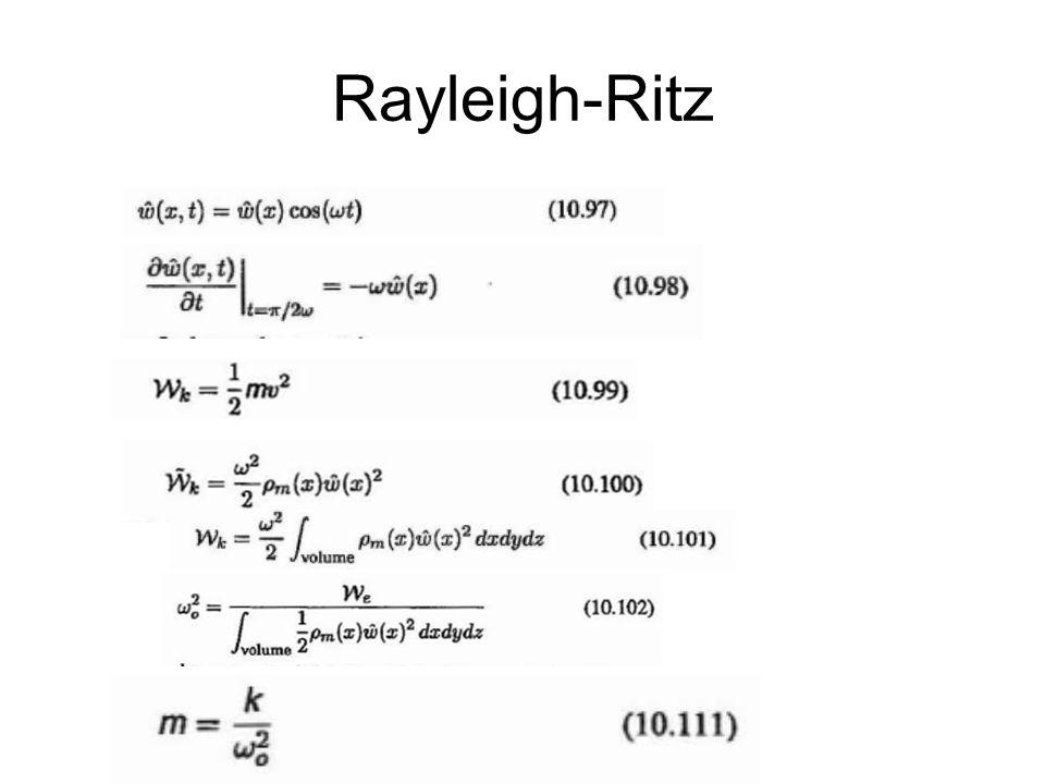 Rayleigh-Ritz