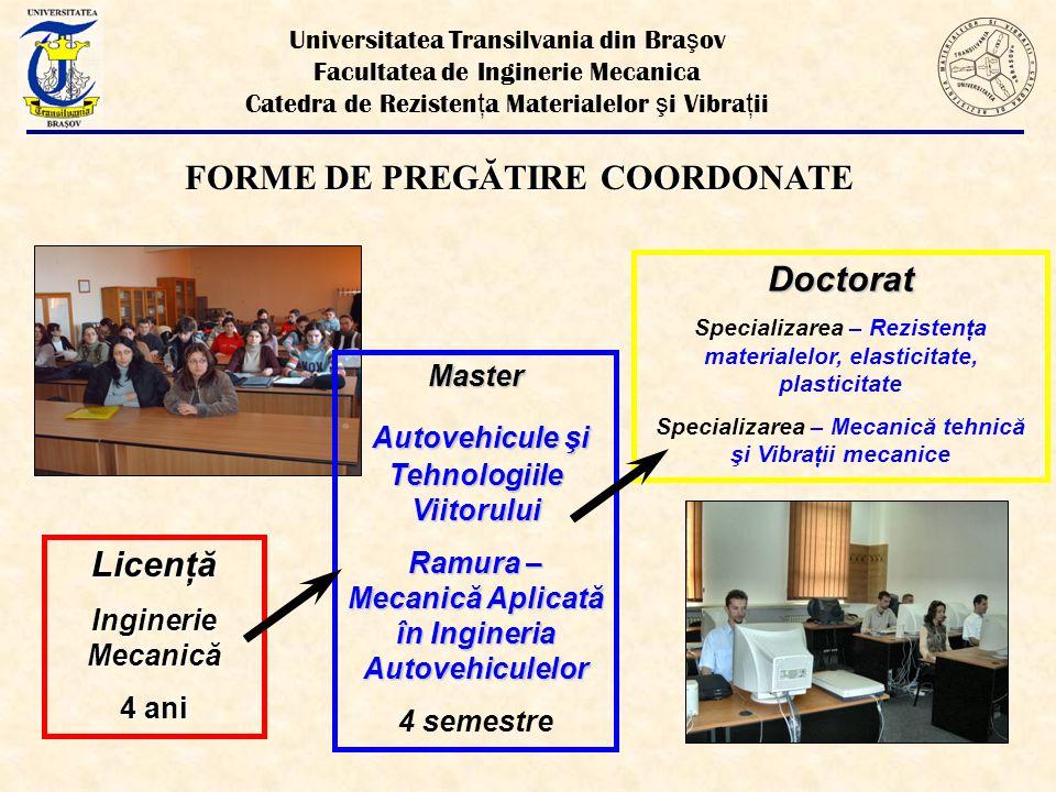 ŞEF CATEDRA - Prof.dr ing. Gheorghe N. RADU Adj. Şef cat.