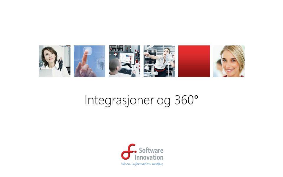 Integrasjoner og 360°