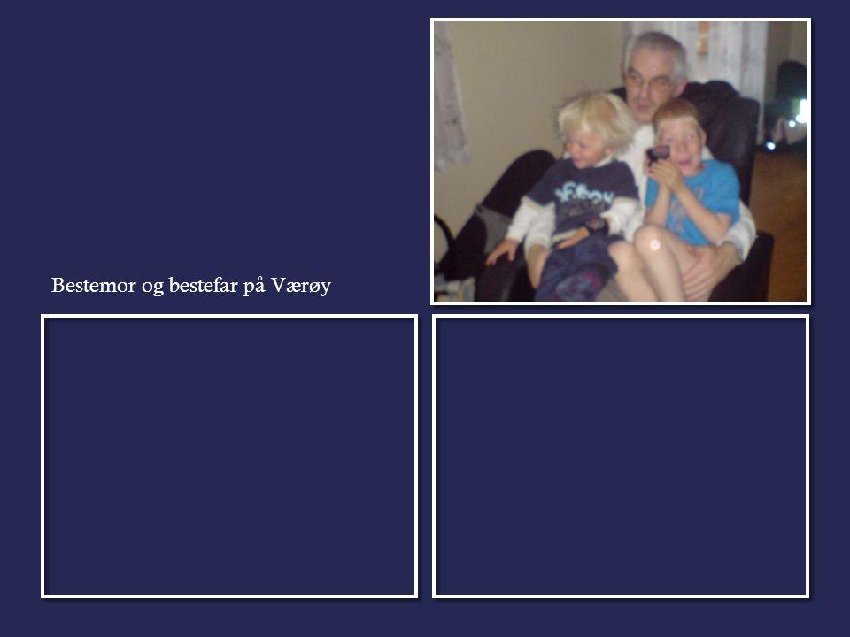 Bestemor og bestefar på Værøy