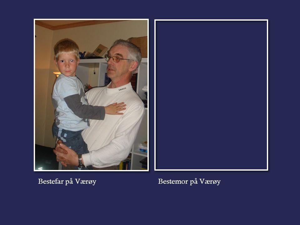 Bestefar på VærøyBestemor på Værøy
