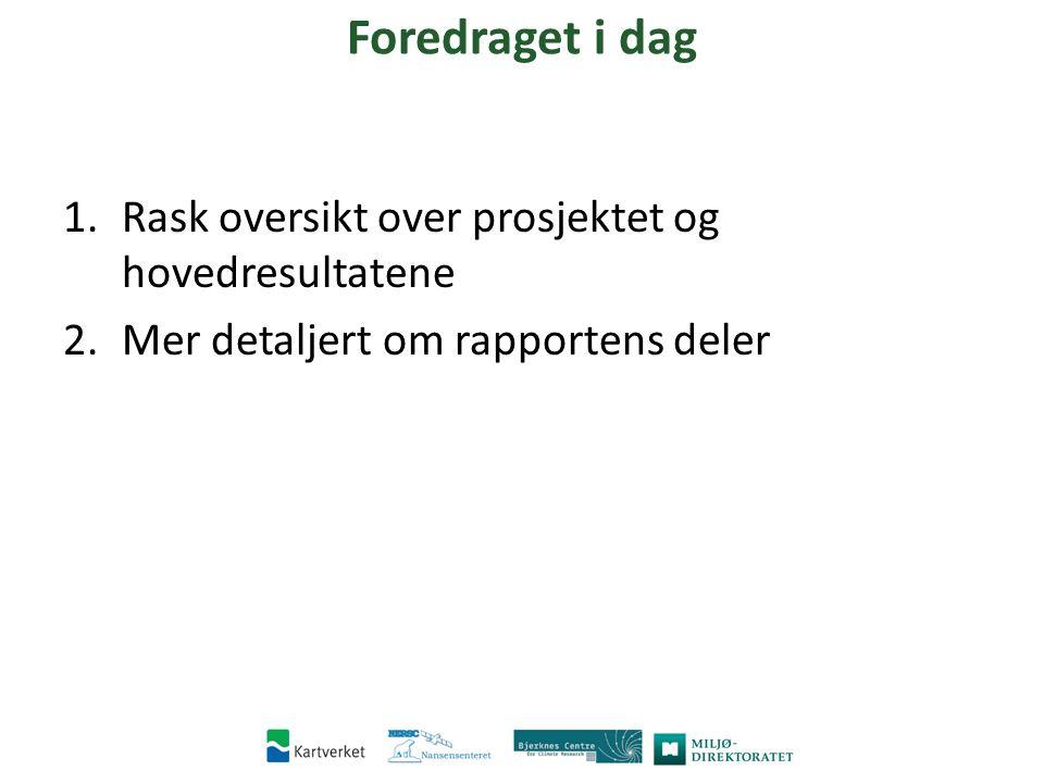 Motivasjon Norge har store verdier langs kysten Kjennskap til framtidige hav- og stormflonivåer er avgjørende for kystsoneforvaltning.