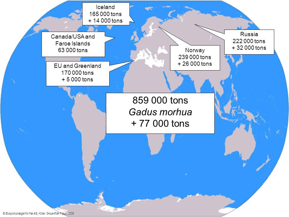 Fersk fisk Frankrike © Eksportutvalget for fisk AS, Kilde: Europanel