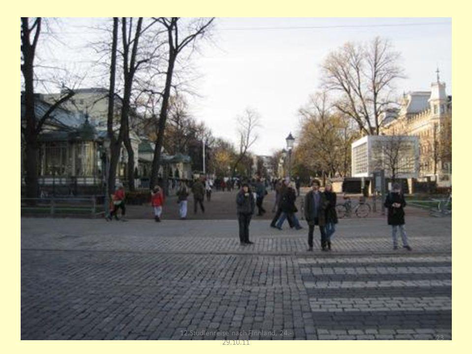 23 12.Studienreise nach Finnland, 24.- 29.10.11