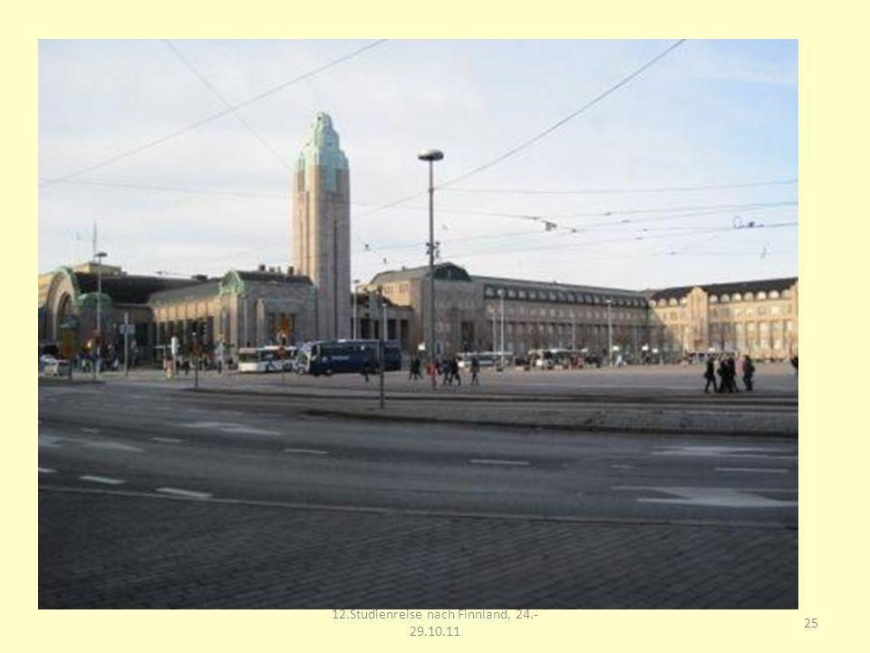 25 12.Studienreise nach Finnland, 24.- 29.10.11