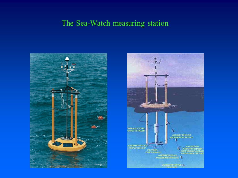 The Sea-Watch measuring station
