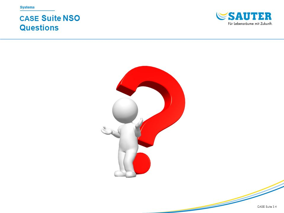 CASE Suite NSO Questions CASE Suite 3.4