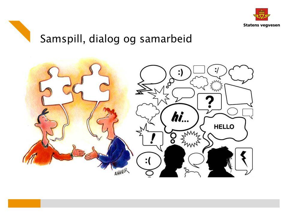Samspill, dialog og samarbeid