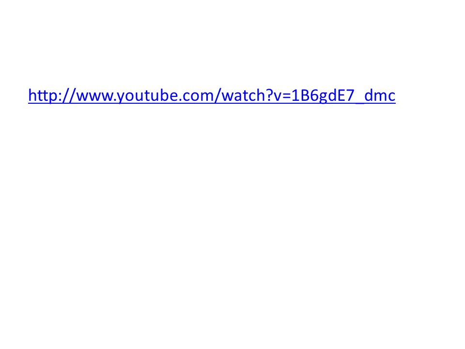 http://www.youtube.com/watch v=1B6gdE7_dmc