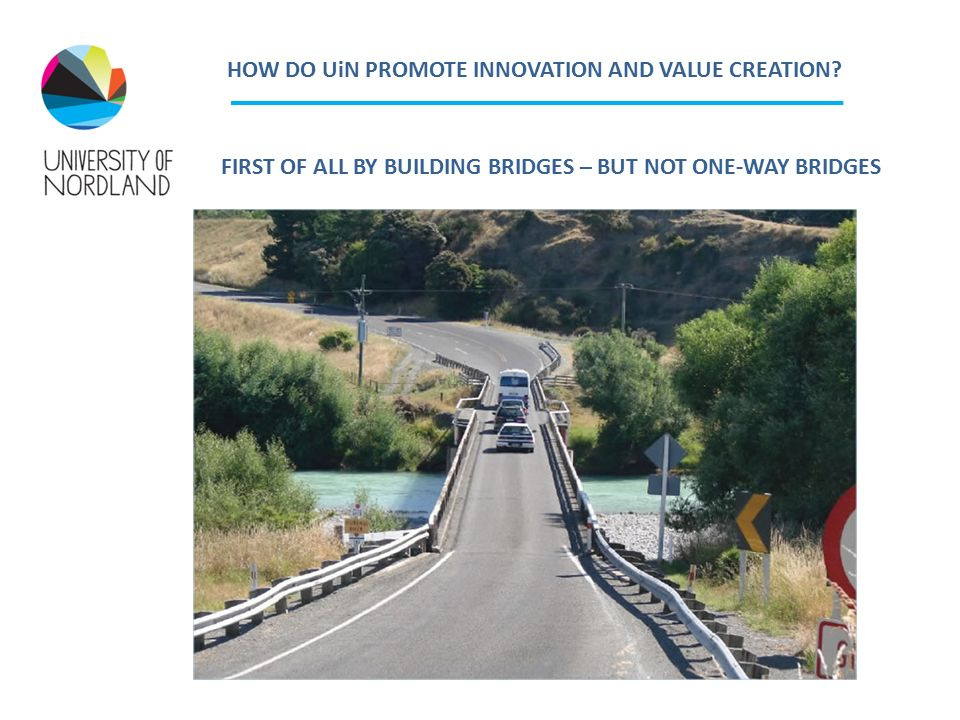 HOW DO UiN PROMOTE INNOVATION AND VALUE CREATION.