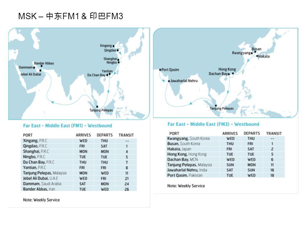 MSK – 中东 FM1 & 印巴 FM3