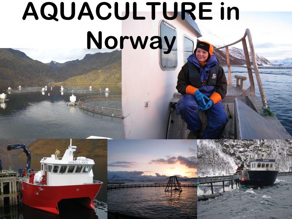 AQUACULTURE in Norway