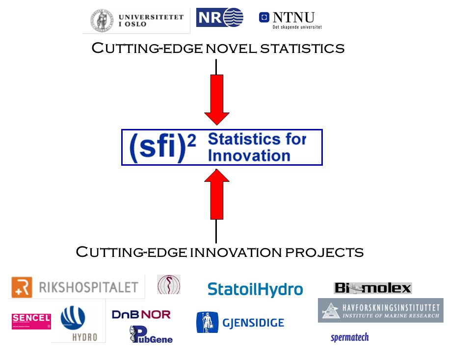Cutting-edge innovation projects Cutting-edge novel statistics