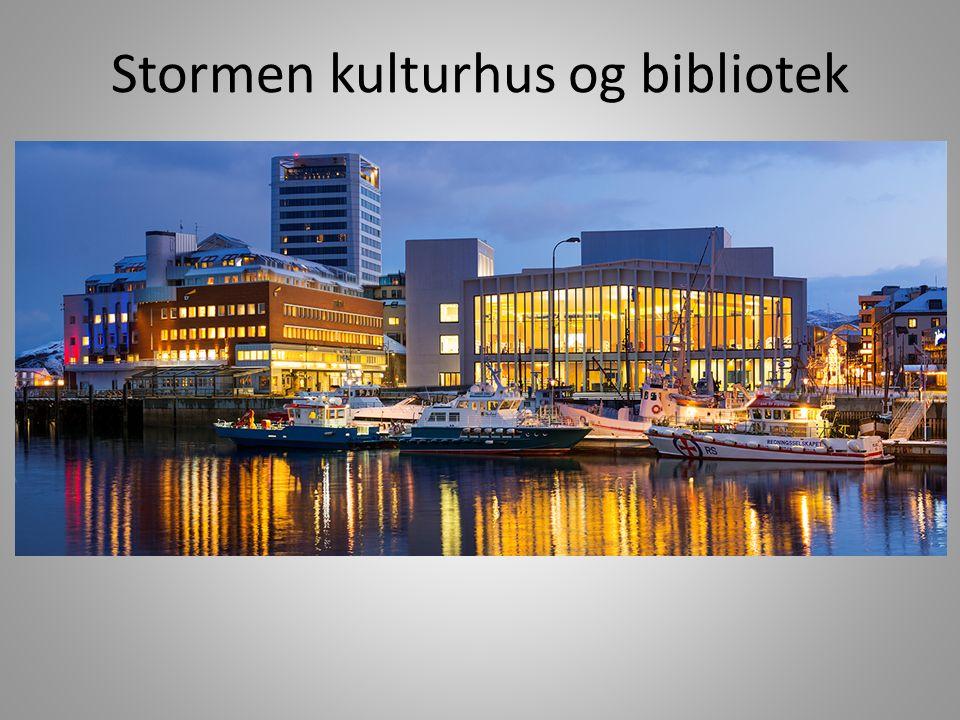 Stormen kulturhus og bibliotek