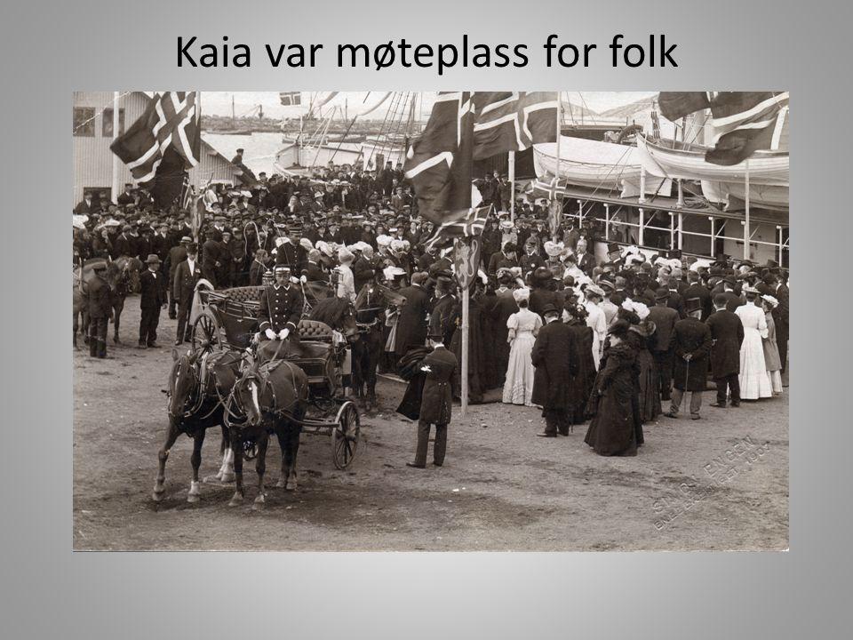 Før gikk folk til telegrafen