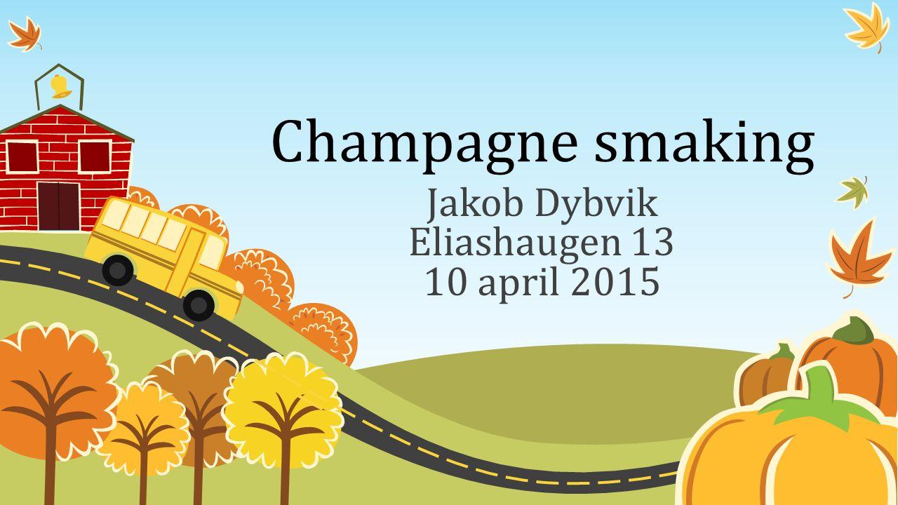 Champagne smaking Jakob Dybvik Eliashaugen 13 10 april 2015