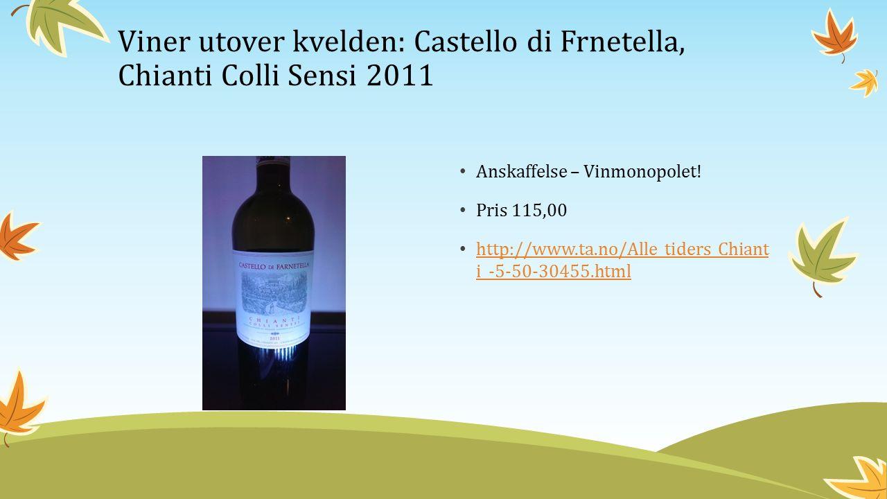 Anskaffelse – Vinmonopolet.