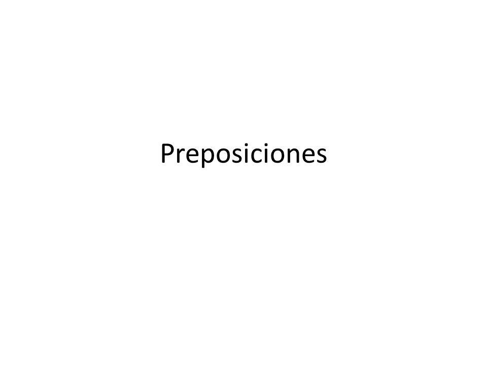 Pronomen etter preposisjon ¿El regalo es para mí.