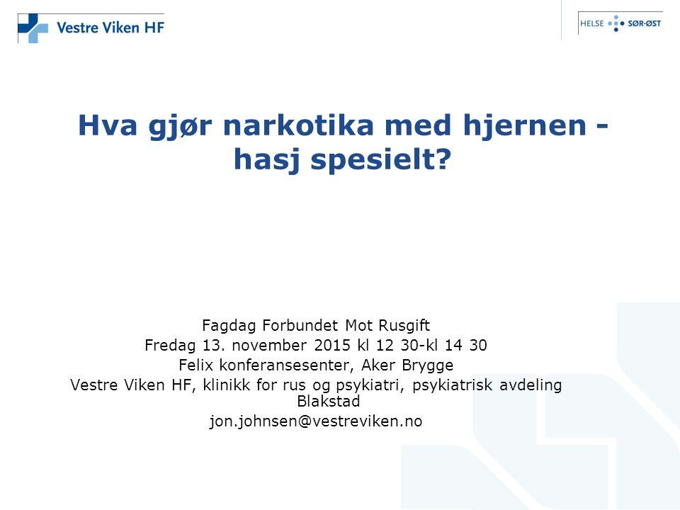 Fagdag Forbundet Mot Rusgift Fredag 13.