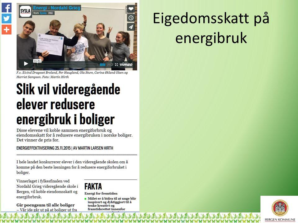 Eigedomsskatt på energibruk