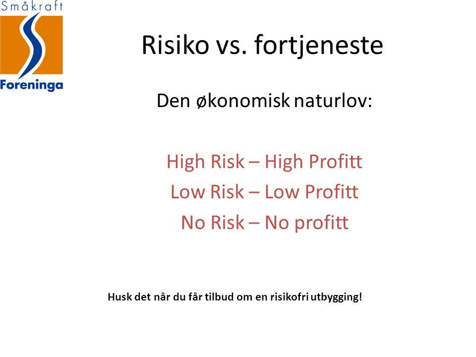 Risiko vs.