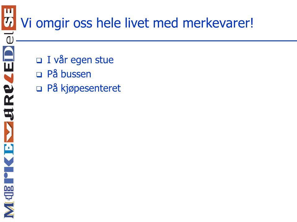 Hva med et norsk eksempel på omdømme eller holdningers flyktighet?