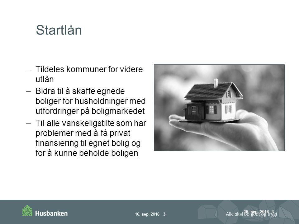 16.sep. 2016 24 Gjør retningslinjene kommunene gode eller ……..