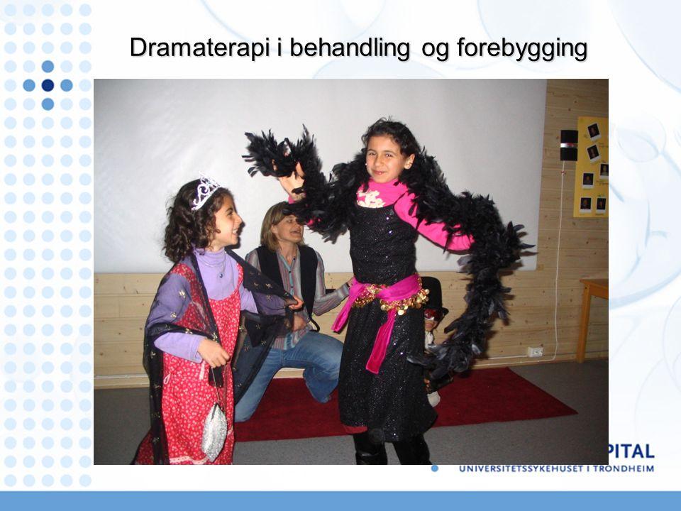Dramaterapi i behandling og forebygging