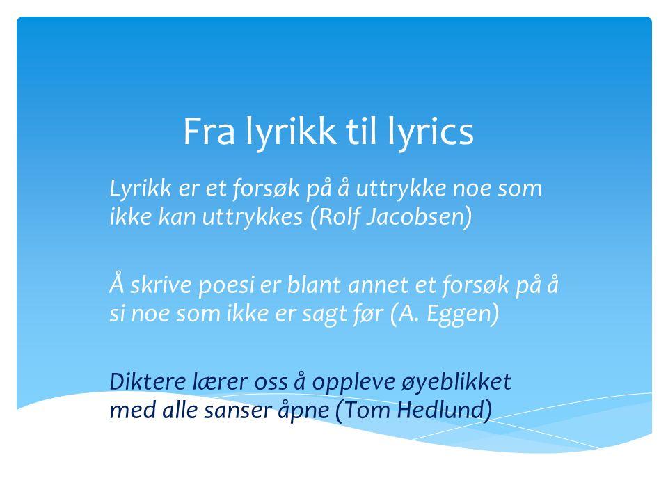  Grekerne delte litteraturen i tre hovedsjangrer:  Episk diktning (fortellende tekster).