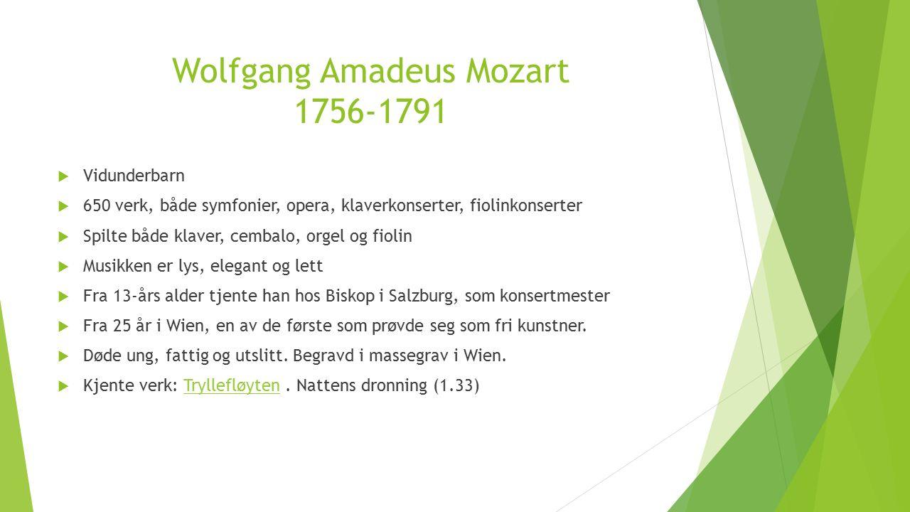 Tre komponister  Joseph Haydn  Wolfgang Amadeus Mozart  Ludwig van Beethoven