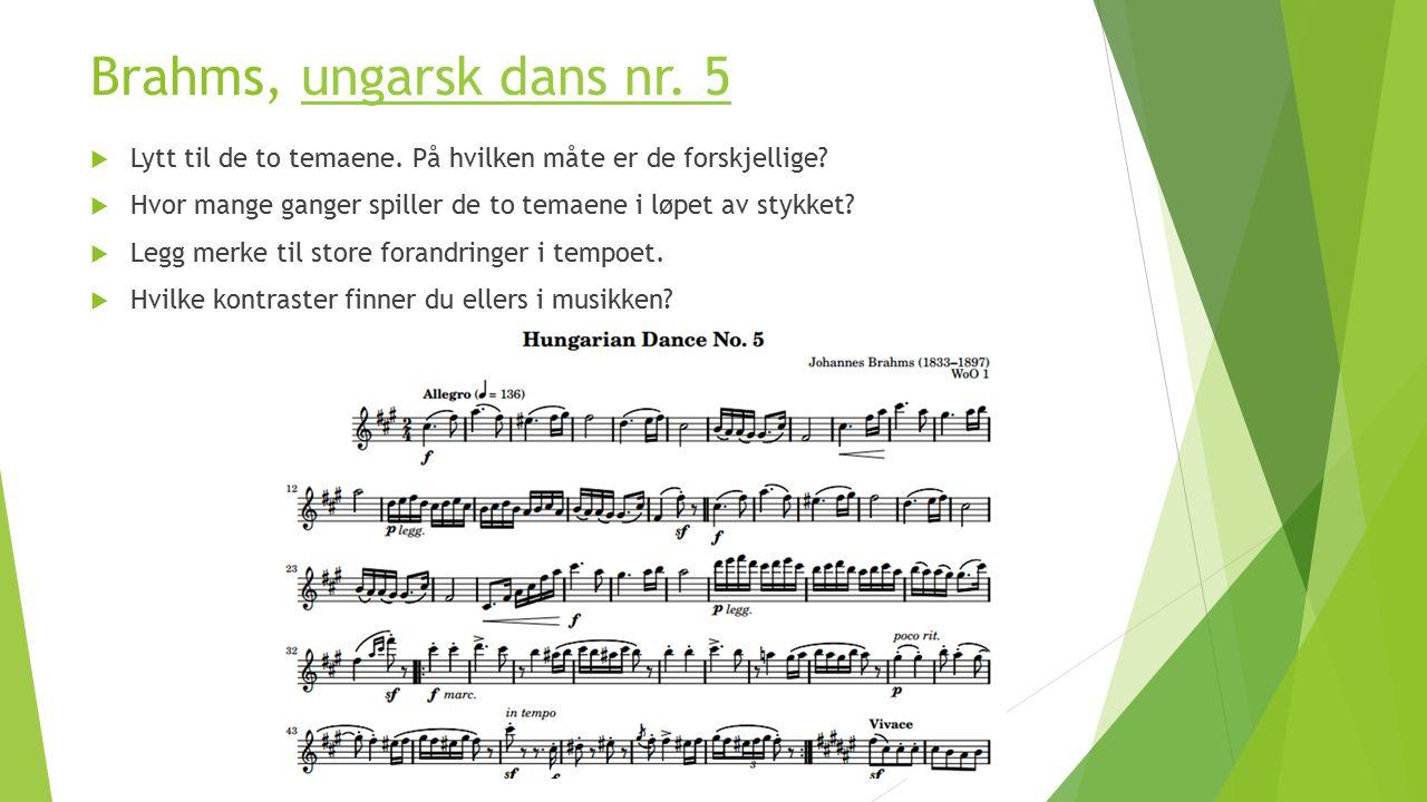 Nasjonalromantikken i andre land  Frans Liszt komponerte ungarske rapsodier: her er nr.