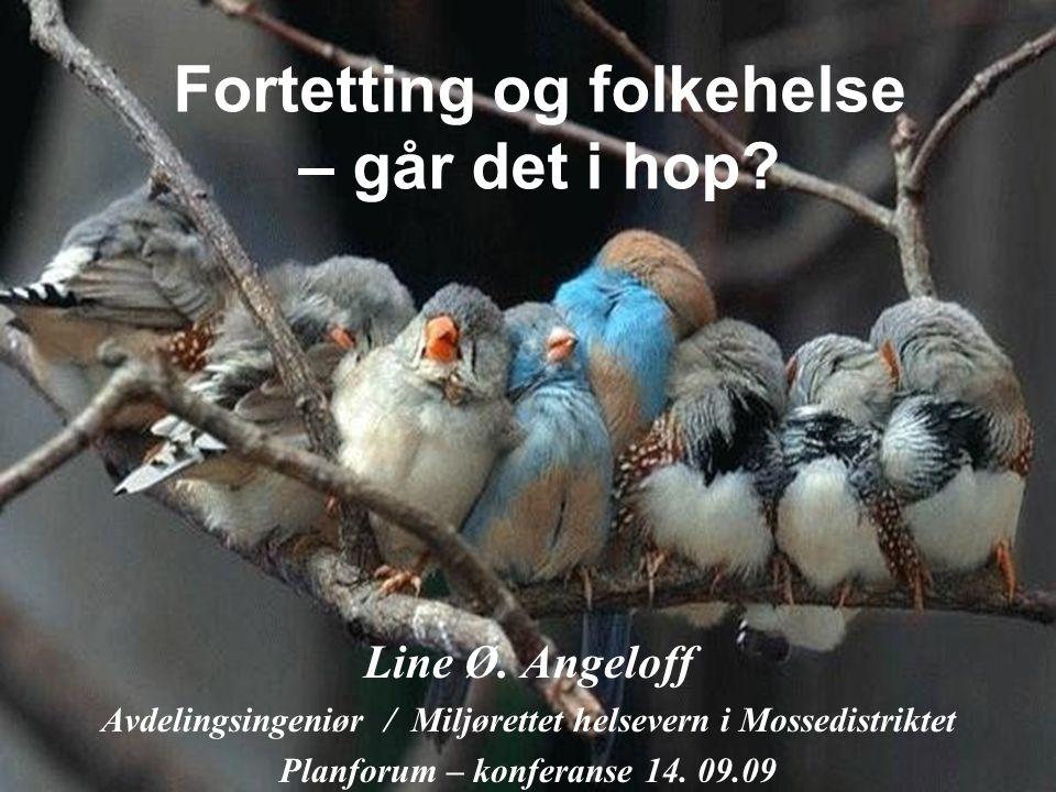 Fortetting og folkehelse – går det i hop. Line Ø.