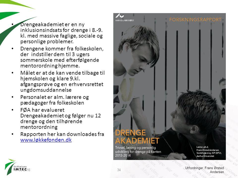 Drengeakademiet er en ny inklusionsindsats for drenge i 8.-9.