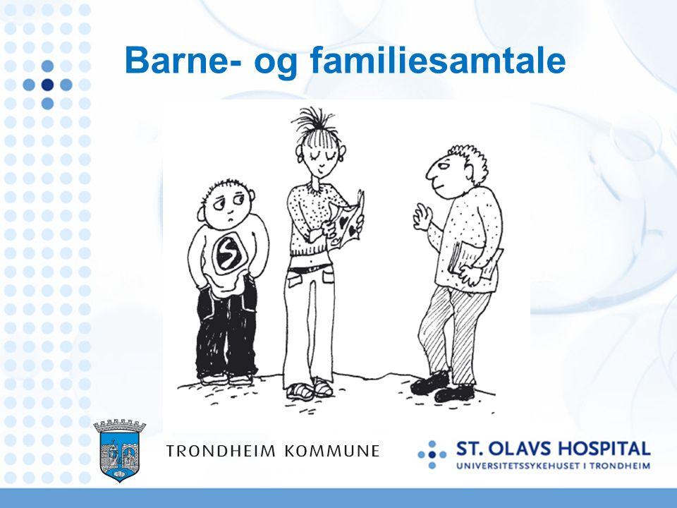 Barne- og familiesamtale