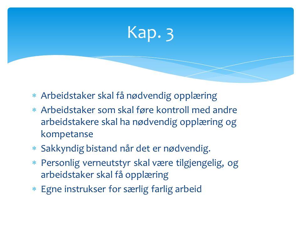  Fortrinnsrett  Krav om skriftlig arbeidsavtale  Midlertidige ansettelser  Utbetaling av lønn og feriepenger  Arbeidsreglement Kap.