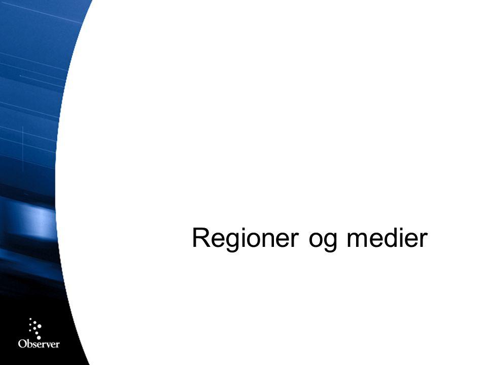 Regioner og medier