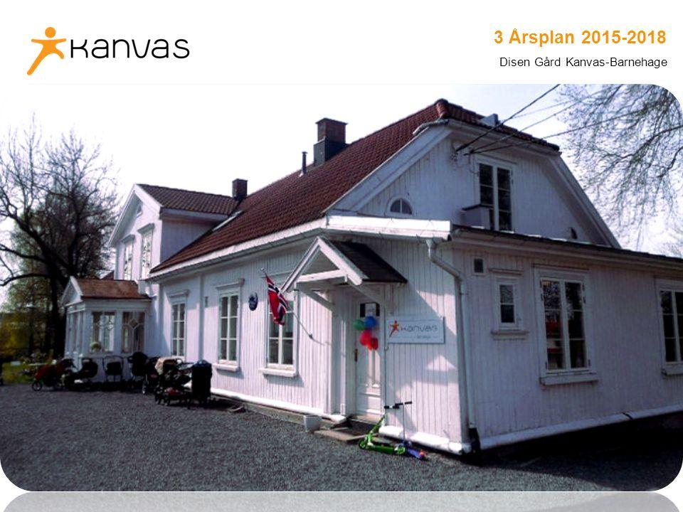 www.kanvas.no 3 Årsplan 2015-2018 Disen Gård Kanvas-Barnehage
