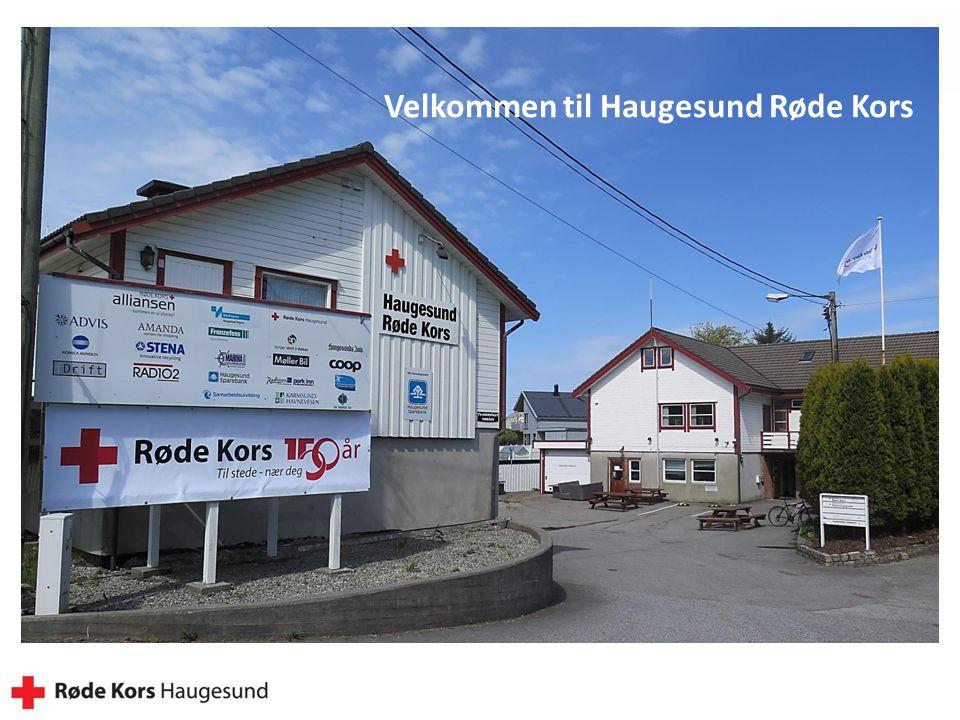Velkommen til Haugesund Røde Kors