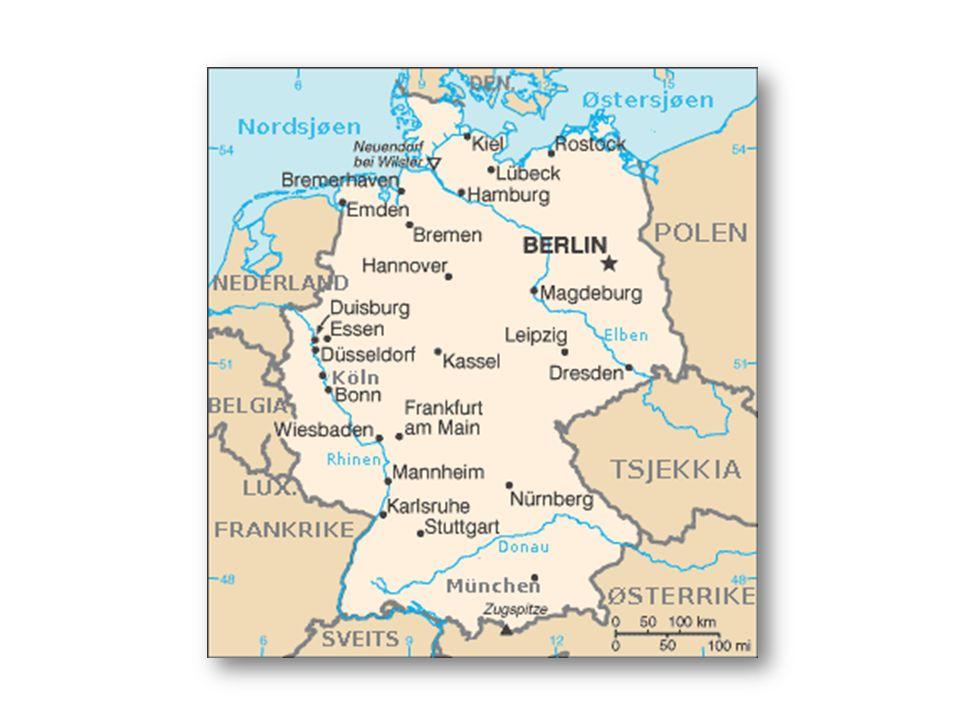 POLITIKK BUNDESTAG  Valg til parlamentet, Bundestag, med sete i Berlin, finner sted hvert fjerde år.