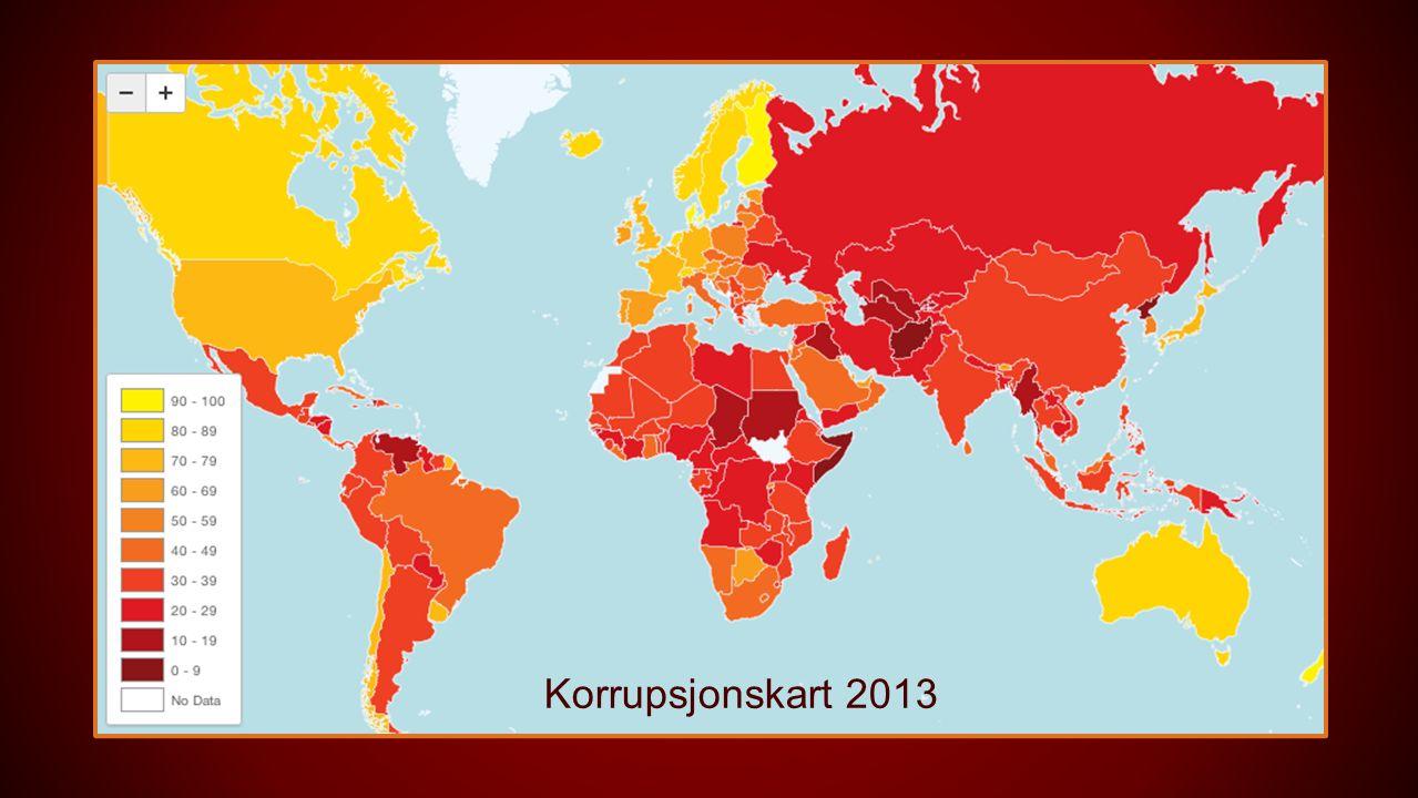 Korrupsjonskart 2013